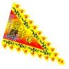 Triagle flag
